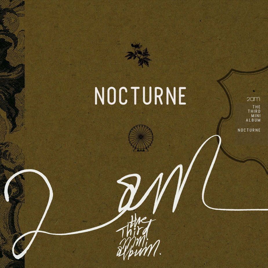 [Mini Album] 2AM - Nocturne [3rd Mini Album]