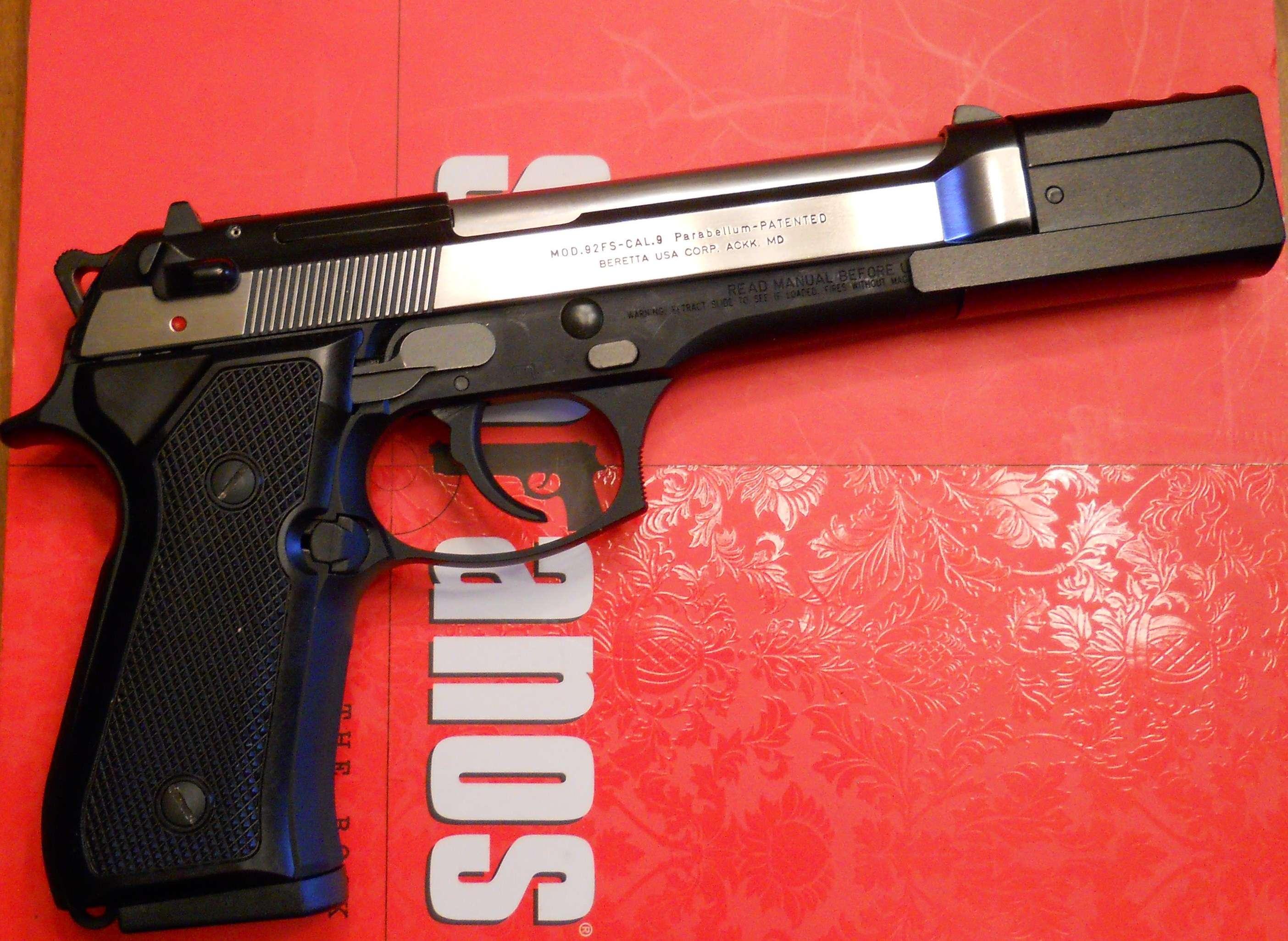My Beretta 92FS Project