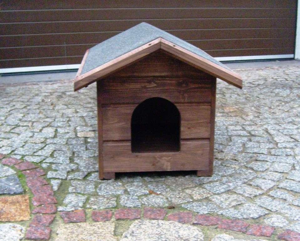 hundeh tte hundehaus aus holz gr s und m vollisoliert wetterfest ver farbe ebay. Black Bedroom Furniture Sets. Home Design Ideas