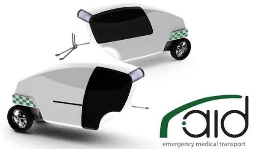 Moto ambulancia - Noticias Curiosas