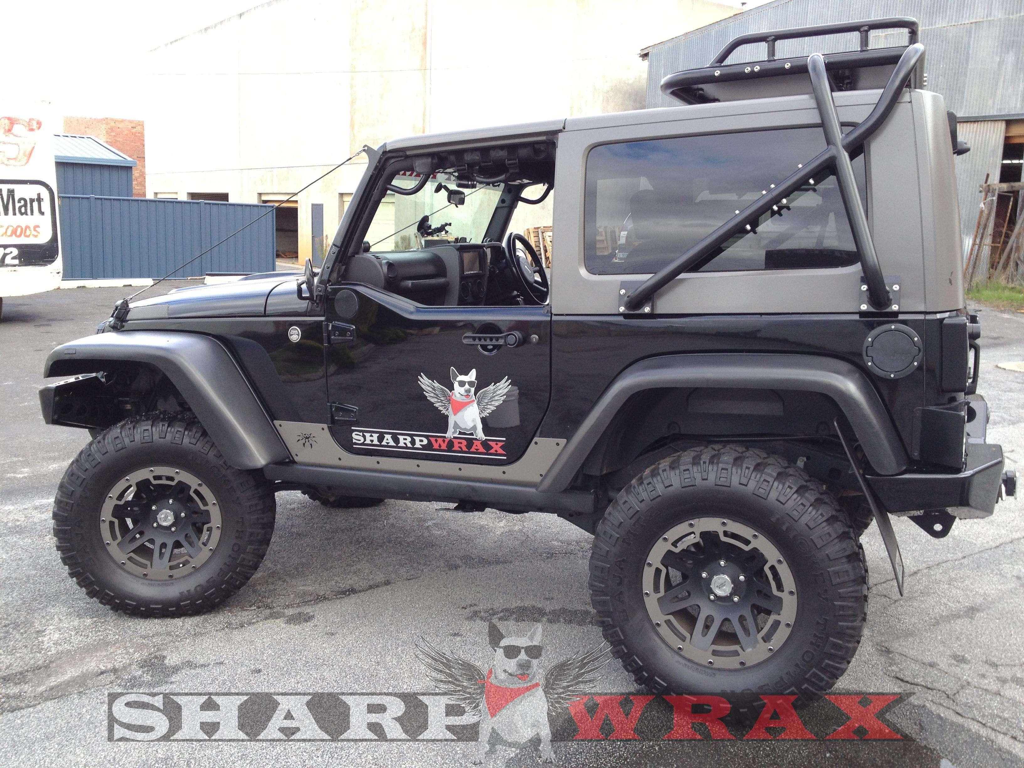 New Wrangler Roof Rack Sharpwrax Jkowners Com Jeep